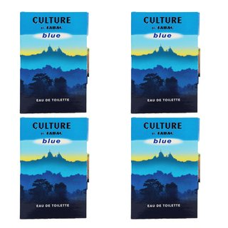 Tabac Culture blue Eau de Toilette Natural Spray 4 x 1,5 ml im Set