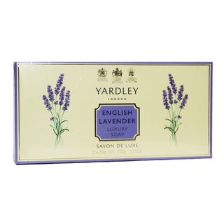 Yardley English Lavender Savon de Luxe 3 x 150 g. Seife im Set