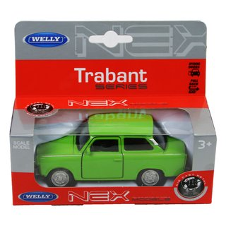 Welly Trabant grün in Box 43654