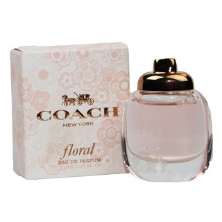 Coach New York Floral Eau de Parfum Miniatur 4,5 ml EDP in Box