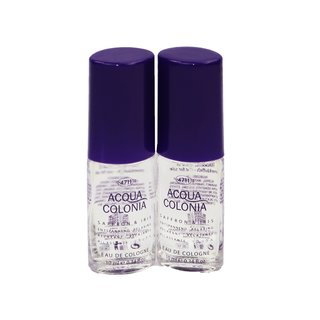 4711 Acqua Colonia Safron & Iris Eau de Cologne Women 2 x 10 ml im Set