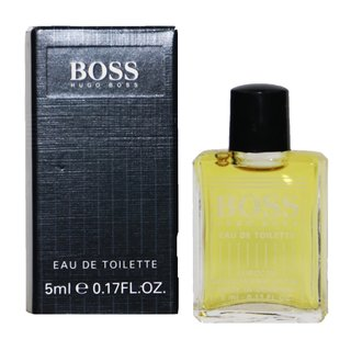 Boss No.1 Eau de Toilette EdT 5 ml Miniatur in Box 1.Version